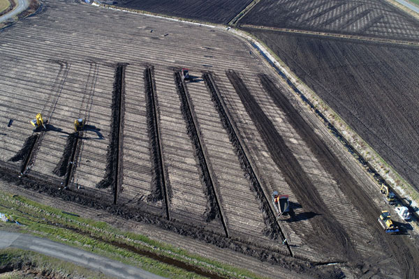 農業基盤整備工事