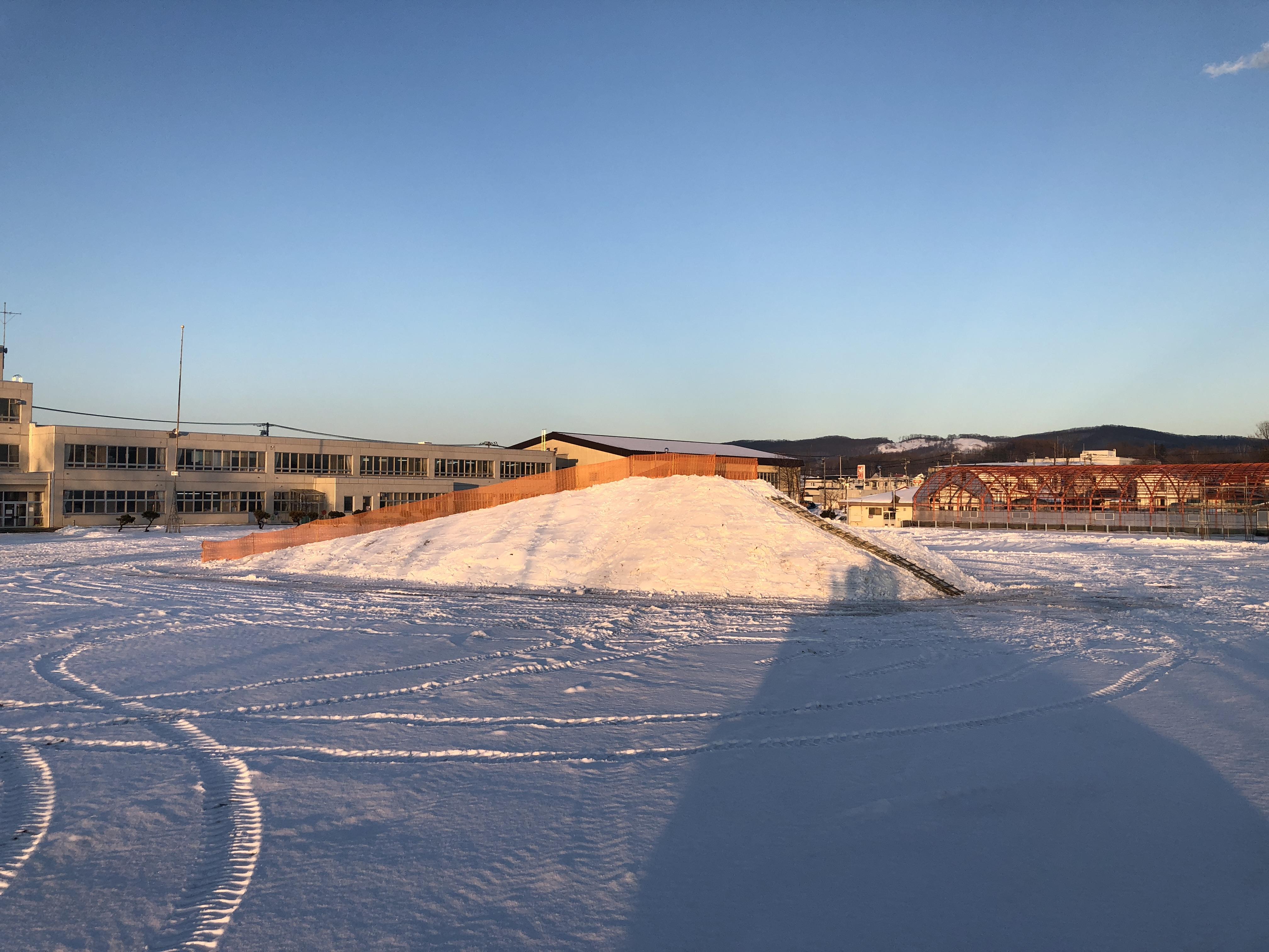 雪山造成完了
