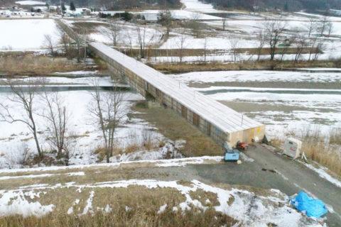 常盤中央橋整備工事